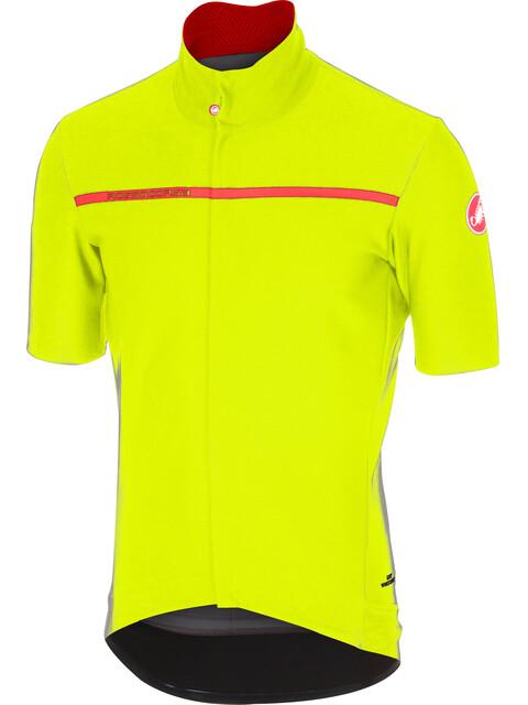 Castelli Gabba 3 Jersey Men yellow fluo
